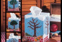 Plastic Canvas-Tissue Covers / by Cassandra Edwards