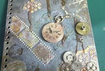 Mixed Media and grunge by Terri Koszler / Mixed media creations by Terri Koszler @ Home is whre the craft is