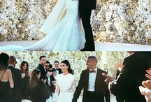 kimkardashian Kanye West Wedding Photos / by BlackwhiteCupid.com - Voted #1 Black Women Dating White Men Site