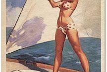Sail Pinups / Pinups on a boat