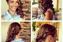 Graduation hair / by Jessica Stern
