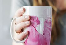 marbling mugs