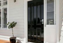 House Entrance & Exterior Colours