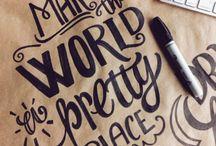 Tegne/skrive greier✏️