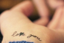 tattoos. i really want one.  / by Ashley Kraft