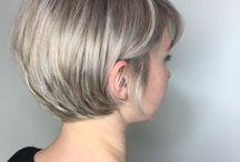 Długa fryzura pixie