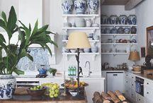 kitchen in dacha