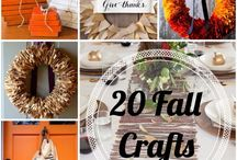 Fall Decor and Crafts / DIY Fall decorating and craft ideas that are free or very cheap to make!