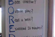 Forslag når man kjeder seg
