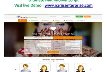 Matrimonial Script / Creating the matrimonial script is made very easy and it is very much important to select the very best matrimonial script. There are many number of script providers found in the websites and among them the most popular one is the Php matrimonial script and it is very much helpful to earn more revenue than the other business done in the websites. Visit : http://narjisenterprise.com