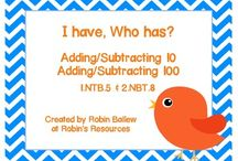 Addition and Subtraction to 100