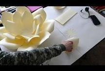 Kwiaty z papieru, filmiki :)