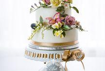 wedding cakes - svadobné torty
