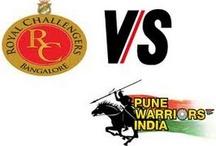 RCB vs PWI playing 11 Match 46 May 2, 2013