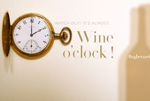 Wine o'clocks by Baghera Wines / www.bagherawines.auction