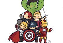 marvel heroes & thor❤