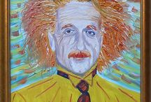 My Paintings - Famous People / Impressionist paintings of famous people
