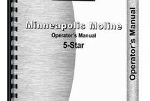 Minneapolis-Moline 5 Star Tractor