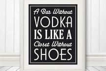 Vodka Bar Party / Who doesn't love Vodka?