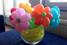 Balloon flower bouquets / Inspiration and selfmade balloon flower bouquets.