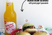 "Food ""Burger"" / Recette - menu - food burger"