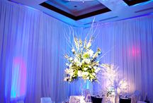 Blue Weddings / Weddings using shades of #Blue. Cool, Calming, Sophisticated