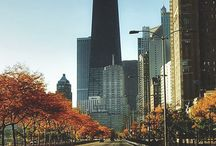 Autumn in Chicago / We love Chicago when the leaves are turning. Check out #chicago through our eyes!