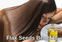 Hair Care / http://followsteps.me/benefits-of-flax-seeds-for-hair-care/