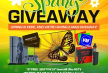 Vapemate Spring Giveaway