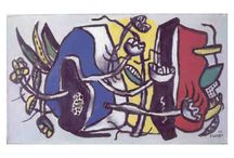 Fernand Léger / With some of his paintings sold for millions of dollars, Leger's works are among the most highly prized in the art world. Besides painting, Leger was also involved in film projects, book illustrations. Murals, stain glass windows, mosaics, ceramic sculptures and even set designs for theatre. Amongst the many students he has taught, some subsequently became internationally renowned artists notably Marcel Mouly, Tsuguharu Foujita and Sam Francis.
