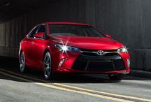 Camry / The Toyota Camry through the years.