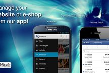 BizWebs Android application / Manage your website or online store from Bizwebs application for Android. It's great to have a chance to don't stop your business and to trade on any place in the world :-)