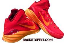 Zapatillas baloncesto / Fotos y creatividades de zapatillas de baloncesto de http://www.basketspirit.com/Zapatillas-Baloncesto