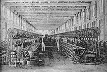 Textile Industry History / by Nittens & Patches