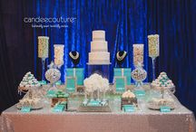 Wedding Dessert Table / All of these wedding dessert tables have been provided by Candee Couture.