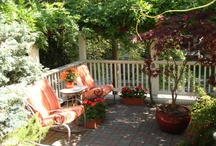Patio & Porch Ideas to Draw From / by Jane Tindall