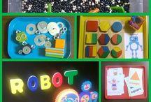 Robots and rockets!