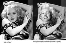 Marilyn Monroe Photoshopped / Marilyn Monroe Photoshopped ~  Interesting... / by Tresa Horner