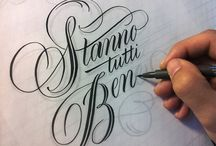 Lettering // Calligraphy // Typography
