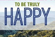 To be truly happy