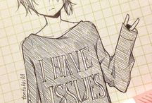 anime sketch's