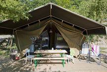 Spanje / Huur een luxe tent in Spanje. Kijk op www.luxetent.nl voor Safaritenten, Lodgetenten, Lodgesuites, Tipi's of Yurt / Gers op kleine campings in Spanje.
