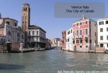 Venice Italy Attractions / by Kid Friendly Family Vacations