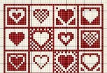 Letterbak borduurpatroontjes