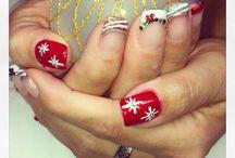 Holiday Nails / Holiday nail designs