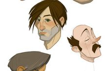 Character references - heads