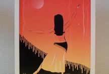 TEMÁTICAS  •lauraboceta illustrations / Prints de ilustraciones  temáticas / Prints of themed artwork