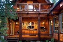 Retreats - Rustic Cozy / by Tosha Riddle May