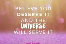 INSPIRATION: FAITH IN THE UNIVERSE