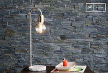 Moderne bureau en vloerlampen